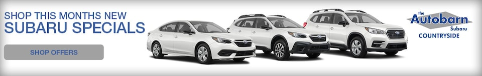 Shop This Months New Subaru Specials - January