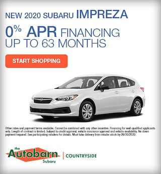2020 Subaru Impreza September Special