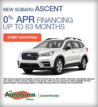 New 2020 Subaru Ascent - April Special