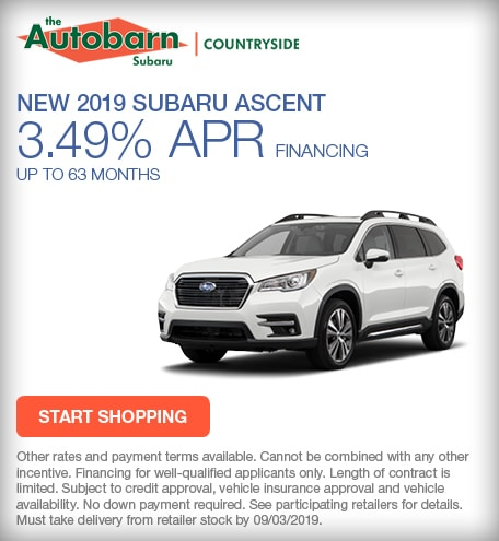 New 2019 Subaru Ascent - August Special