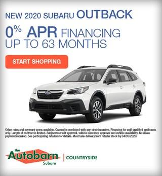 New 2020 Subaru Outback - April Special