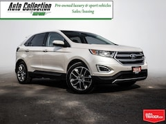 2015 Ford Edge Titanium - LOADED, PANOROOF, NAV, CAMERA ETC!! SUV