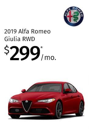 Lease the 2019 Giulia