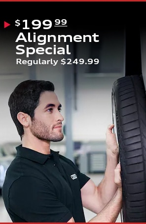 $199.99 4-Wheel Alignment Special (Regularly $249.99)