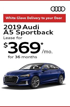 Lease the 2020 Audi A5 Sportback
