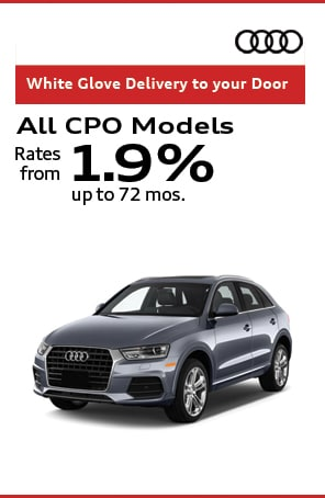 Certified Preowned rates from 1.9% up to 72 months