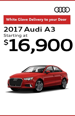 2017 Audi A3 starting at $16,900