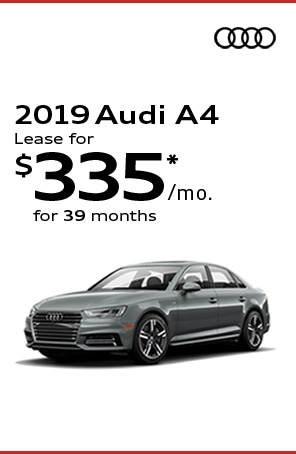 Lease the 2019 AUDI A4