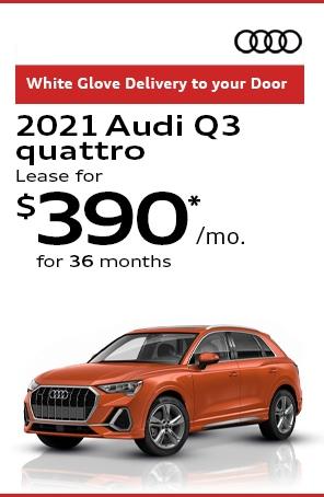 Lease the 2021 Audi Q3