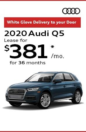 Lease the 2020 Audi Q5