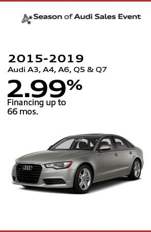 2015-2019 Audi A3, A4, A6, Q5 &Q7