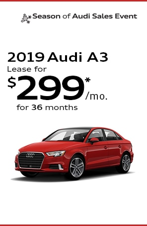 Lease the 2019 Audi A3