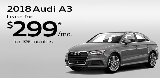 New Audi Vehicle Lease Specials Special Offers On New A A Q - Audi cars on lease