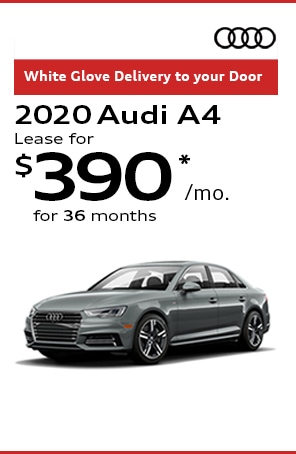 Lease the 2020 Audi A4