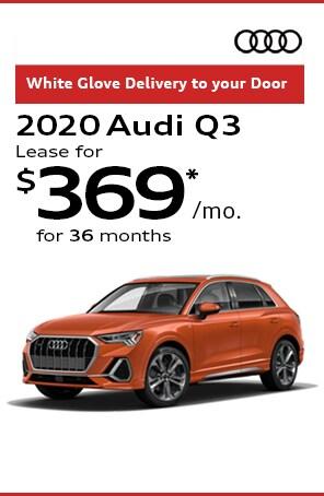 Lease the 2020 Audi Q3