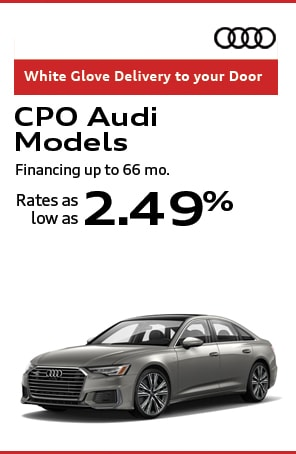 Certified Pre-Owned Audi's