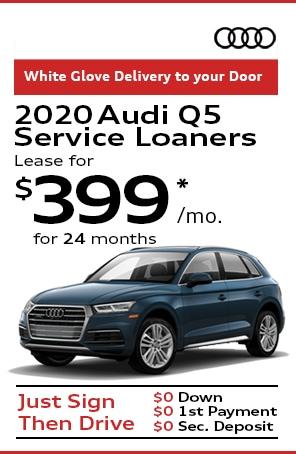 CPO Audi Service Loaners