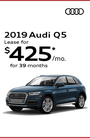 Lease the 2019 AUDI Q5