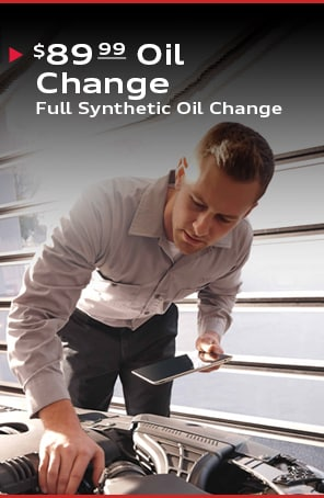 $89.99 Full Synthetic Oil Change