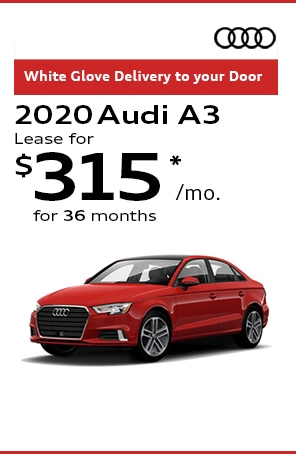 Lease the 2020 Audi A3