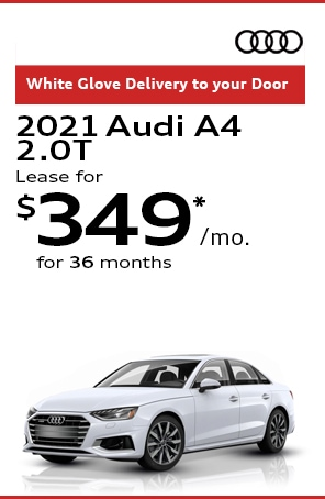 Lease the 2021 Audi A4