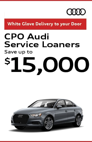 Certified Pre-Owned Audi Service Loaners