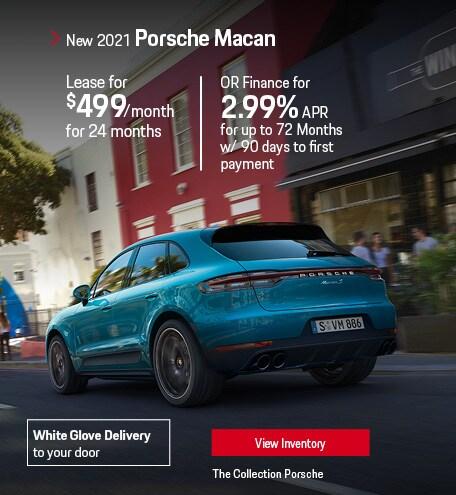 Lease the 2021 Porsche Macan
