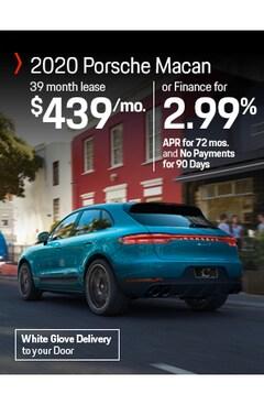 Lease the 2020 Porsche Macan