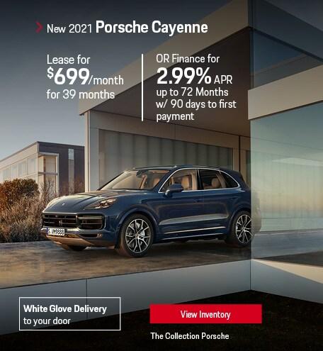 Lease the 2021 Porsche Cayenne
