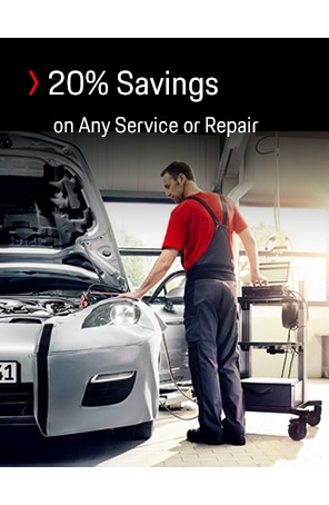 20% OFF ALL VEHICLE SERVICE