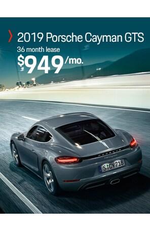 Lease the Porsche 718 Cayman GTS