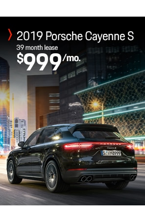 Lease the 2019 Cayenne