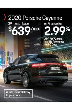 Lease the 2020 Porsche Cayenne