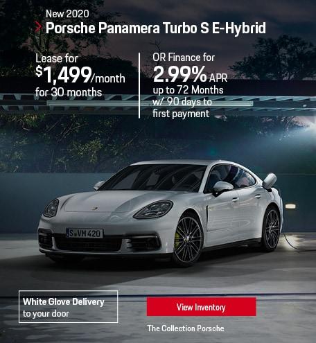 Lease the 2020 Porsche Panamera Turbo E-Hybrid