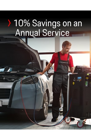 10% Savings on an Annual Service