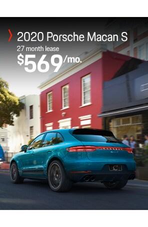 Lease the Porsche Macan S 2020