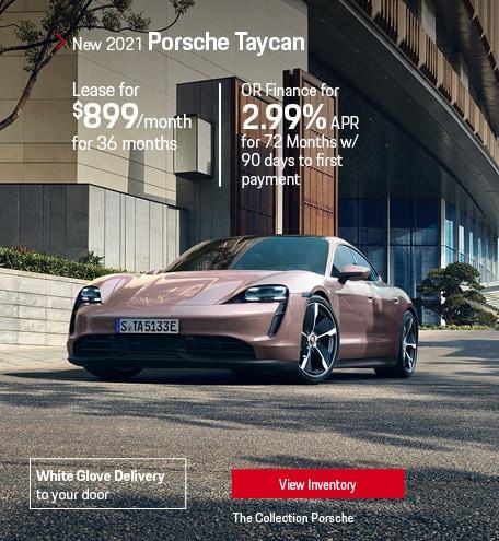 Lease the 2021 Porsche Taycan