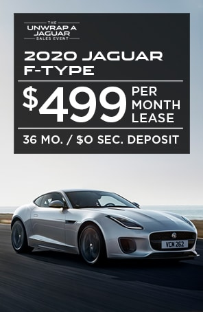 Lease the 2020 Jaguar F-TYPE