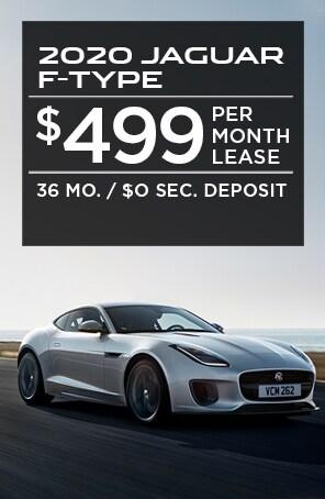 Lease the Jaguar F-TYPE