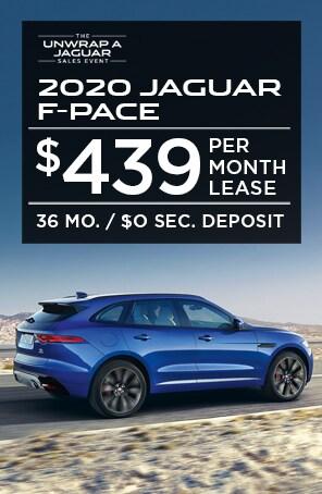 Lease the 2020 Jaguar F-PACE