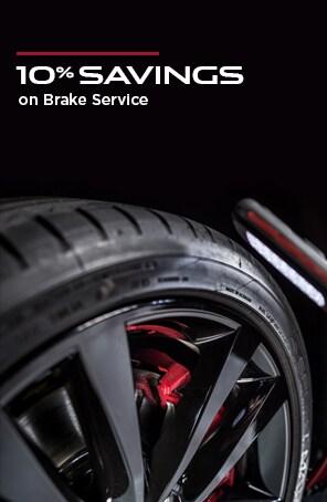 10% Savings on Brake Service