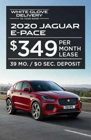 Lease the 2020 Jaguar E-PACE