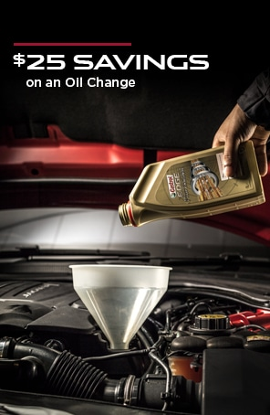 Save $25 on an Oil Change