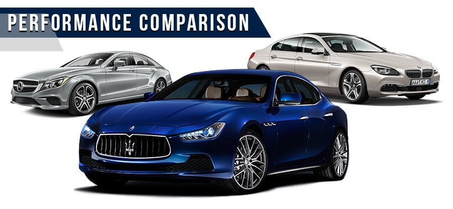 Maserati Ghibli Comparison