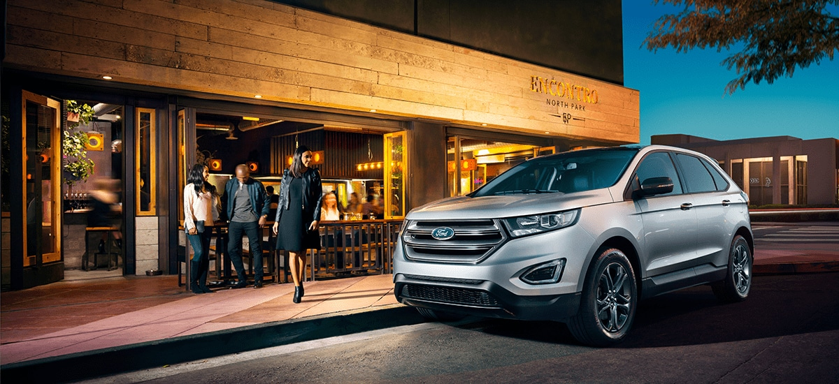 The All New  Ford Edge