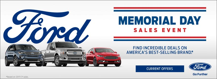 Memorial Day Car Sales 2017 >> Memorial Day Sales Event The Frederick Motor Company