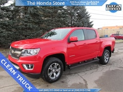 Used 2018 Chevrolet Colorado Z71 Truck Crew Cab For Sale in Youngstown, OH