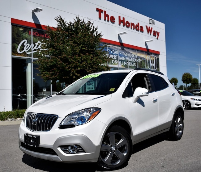 2014 Buick Encore Bluetooth, B/U Camera, Alloy Wheels, Tint SUV