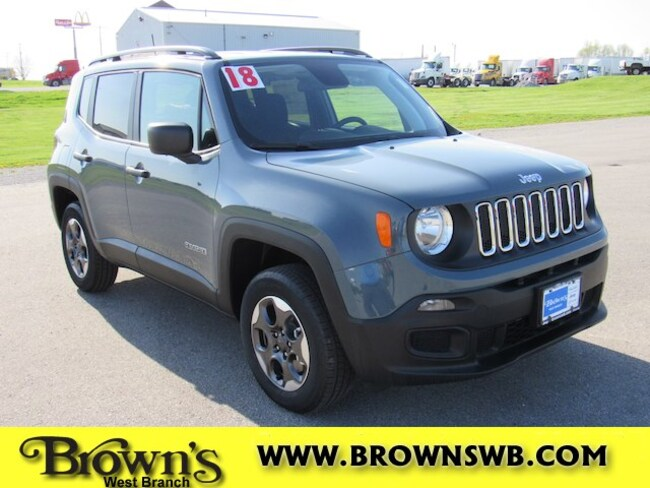 New 2018 Jeep Renegade SPORT 4X4 Sport Utility in West Branch