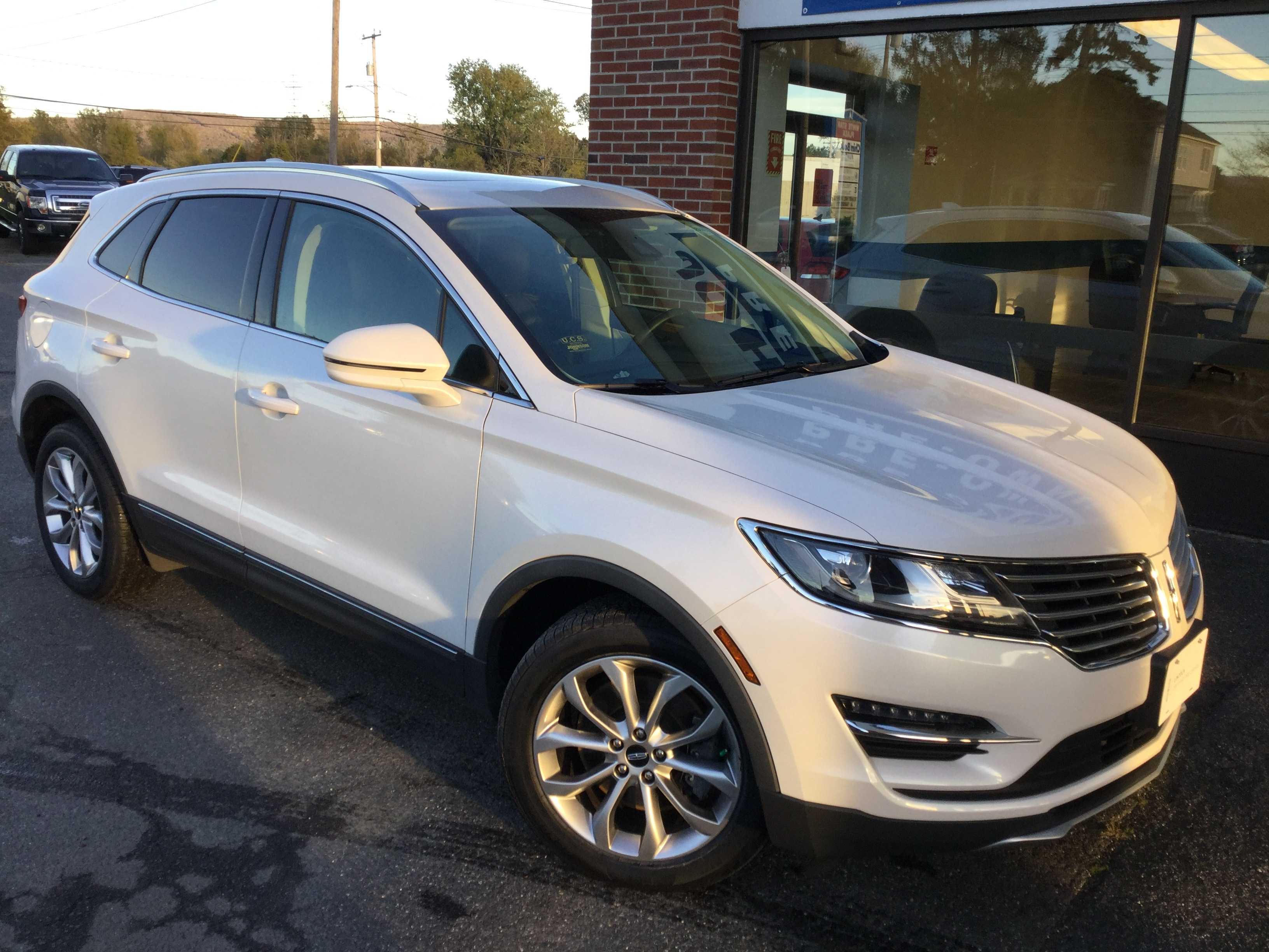 2016 Lincoln MKC Select Certified SUV